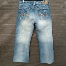 Guess CLIFF Boot Fit Men's Jeans Size 31 X 27  Distressed Wash