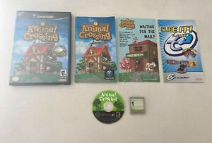 Animal Crossing (Nintendo GameCube, 2002) COMPLETE!! With Memory Card! Working!