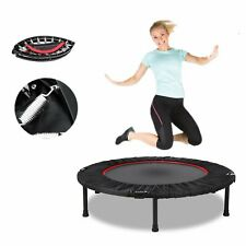 40'' Mini Fitness Trampoline Home Gym Fun Exercise Rebounder W/ Carry Bag