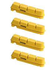 Set 4 PATTINI SWISSSTOP YELLOW PER CERCHI IN CARBONIO PER campagnolo