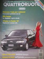 Quattroruote 494 1996 Alfa:la Giulietta è in strada.Inserto Nissan Primera
