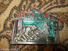 Roofer Vintage Belt Buckle Rocker Cool Emo Indie Free USA Ship