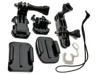 GoPro Genuine Accessories Grab Bag Spare Parts and Mounts Go Pro Action Camera