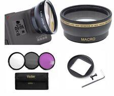 GOPRO HERO7 BLACK HD WIDE ANGLE LENS + MACRO LENS + 3 HD FILTERS KIT UV-CPL-FLD