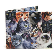 The Cute Cat Bifold Paper Wallet - NEW - The Walart - Mighty Tyvek Dynomighty