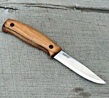 BPS Knives BS3 Bushcraft Full Tang Knife Hunting Camp Knife Carbon Steel Scandi