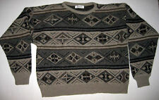 Vintage Jantzen Aztec Cosby Sweater USA XL Knit Short Wool Blend