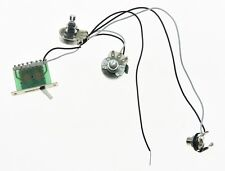 Guitar Pre-wired Wiring Harness with Large Alpha 500K Pots 1V1T 5 Way Switch