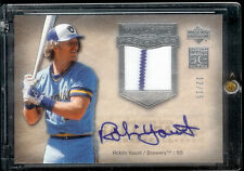 2005 Hall Of Fame Seasons Robin  Yount Auto Jersey #12/15 Milauwakee Brewers