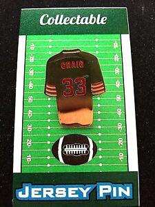 San Francisco 49ers Roger Craig jersey lapel pin-Collectible-Niner Gold Edition