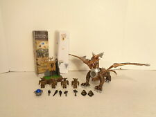 2002 Mega Bloks Construx Dragons #9850 Dragon Battle Building Set Complete