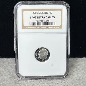 2009-S SILVER PROOF ROOSEVELT DIME NGC PF 69 ULTRA CAMEO (009)