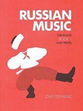 Russian Music for Piano Book 1 Sheet Music Solo Piano NEW 014034733