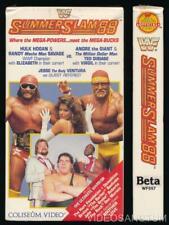 Coliseum Video WWF Betamax NOT VHS SummerSlam 88 Factory Sealed WCW WWE Hogan