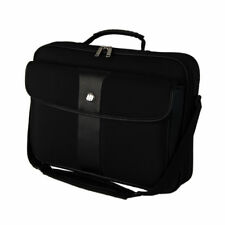 Clam Shell 16in Laptop Messenger Bag (Nero)