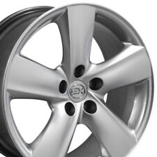 18 Rims Fit Lexus Toyota Ls460 Style Hyper Silver Wheels 74196 Set Fits 2011 Toyota Camry