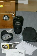 Nikon AF-S Nikkor 16-35mm F/4G ED VR Zoomobjektiv - AFS 4,0/16-35 G ED VR