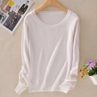 Fashion Women Knitted Cashmere Long Sleeve Jumper Pullover Sweater Winter Tops√