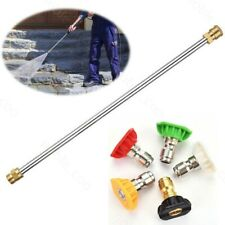Gas/Gasoline High Pressure Power Washer Wand Lance & Nozzle 4000PSI Universal