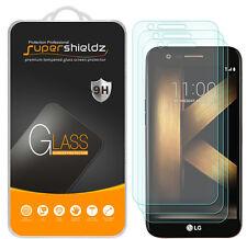 3X Supershieldz LG K10 (2017) Tempered Glass Screen Protector Saver