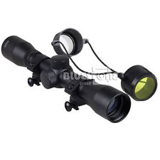 4 x 32 Tactical Air Rifle Optics Sniper Scope Reviews Sight Hunting Scopes