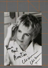 Miou-Miou Signed Inscribed Autograph Photo  no reserve written note in the back