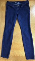 "EXPRESS Skinny Leg Stretch Jeans Dark Wash Women's Size 6 30"" X 31"""