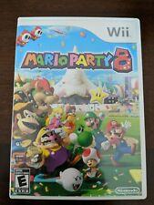 Mario Party 8 (Nintendo Wii 2007) CIB Complete Videogame with Manual