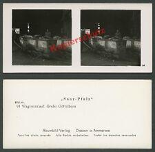 o. Raumbild Grube Göttelborn Quierscheid Saar Bergbau Montan Feldbahn Kohle 1937