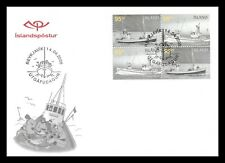 Iceland 2005 FDC, Old Fishing Boats, Lot # 2a.
