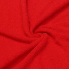 Serviettes, draps et gants de salle de bain rouge sans marque