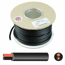 2 Core Round Thin Wall Automotive Auto Cable Wire 12V 24V - 0.5mm to 2mm