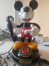 Vintage RARE disney Mickey Mouse 1 Telephone home phone working