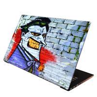 Laptop Folie  Aufkleber Schutzfolie für Notebook Skin Cover Joker 13-17 Zoll