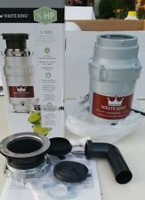 Waste King Legend Series L-1001 Continues Use Garbage Disposal - Gray with Cord