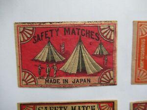 OLD JAPANESE MATCHBOX LABEL.DESIGN 1.