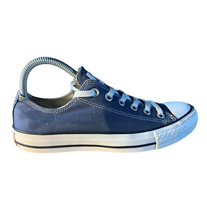 CONVERSE Chuck Taylor All Star Blue Low Top Sneakers Men's 6 | Women's 8