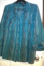 WOMENS MAGGIE BARNES PLUS SIZE  BLOUSE SIZE 26/28W CATHERINES