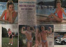 Coupure de presse Clipping 1988 Douchka  fille de P Petit & G Esposito (2 pages)