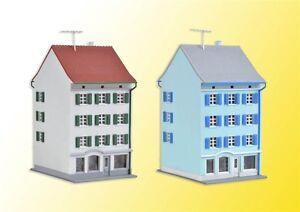 36841 Kibri Z Gauge Kit of zwo Town houses with shop, 2 pieces - NEW
