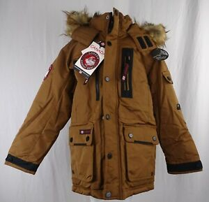 Canada Weather Gear Boys Snap-Up Full-Zip Parka Jacket