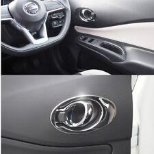 Stainless Steel Interior Handle Trim For Nissan Note Versa Hatchback 2017 ON