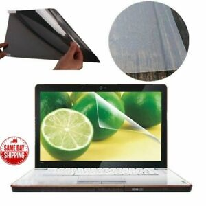 "LCD Laptop Screen Guard Protector Notebook Anti Glare No Scratch Type 15.6"" Wide"