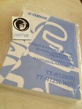 Yamaha TT-R125 R TTR125 TTR 125 TT-R workshop manual manuel atelier éd. 02