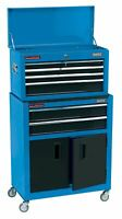 """Draper 24"""" Combined Roller Cabinet and Tool Chest (6 Drawers) 19563"""