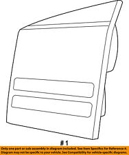 Dodge CHRYSLER OEM 11-17 Journey Backup Light-Back Up Lamp Left 68078517AE