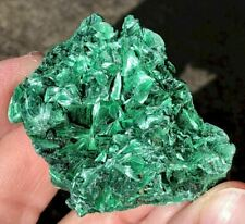 Natural Fibrous MALACHITE Crystal Specimen - Prosperity, transformation! C9