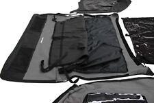 2004-2006 Jeep Wrangler Unlimited LJ Frameless Soft Top Sailcloth Black