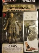 """Plan B Toys Special Forces Medic Figure New on Card Mission 2 WW2 WWII Sealed 6"""""""