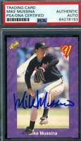 Mike Mussina PSA DNA Coa Autograph 1991 Classic Rookie Hand Signed